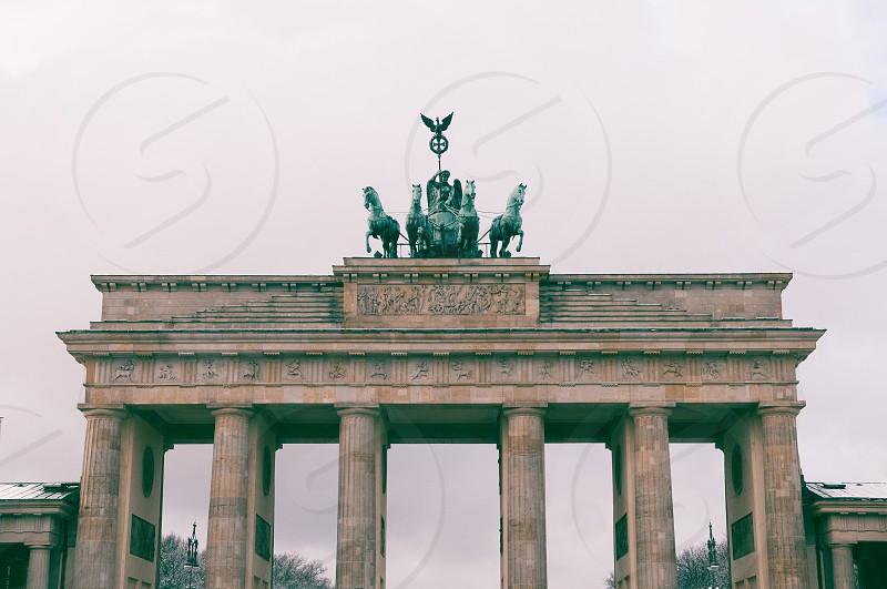 Brandenburger Tor Berlin Germany photo
