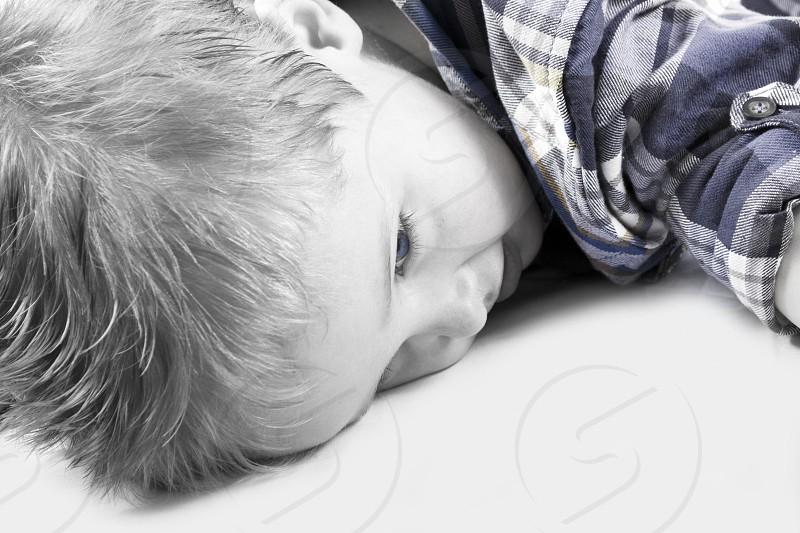 Blue eyed boy photo