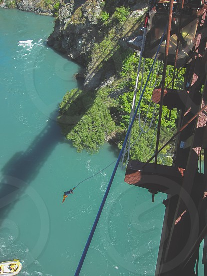 Bungee jumpers photo