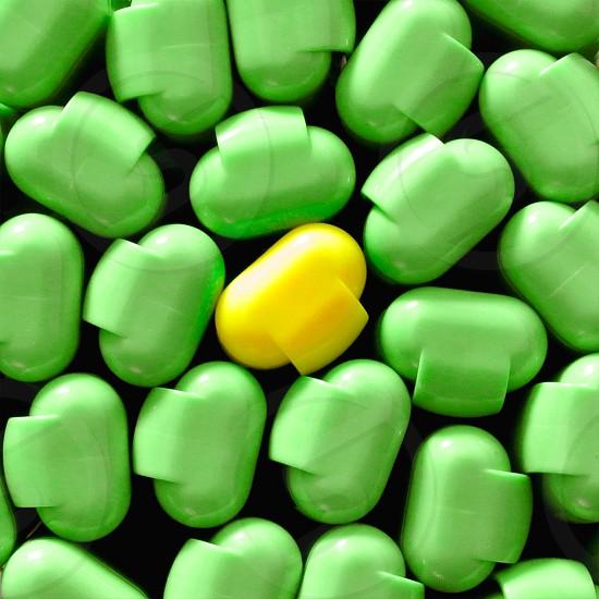 green capsules  photo