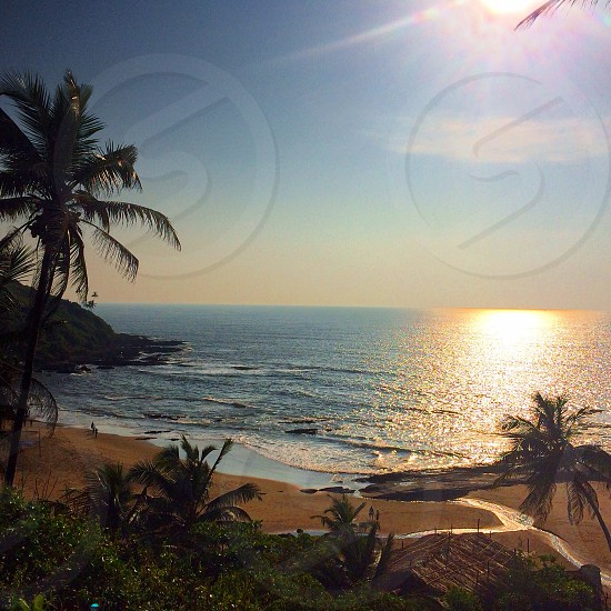 Goa india - sunshine sand sea fun times photo
