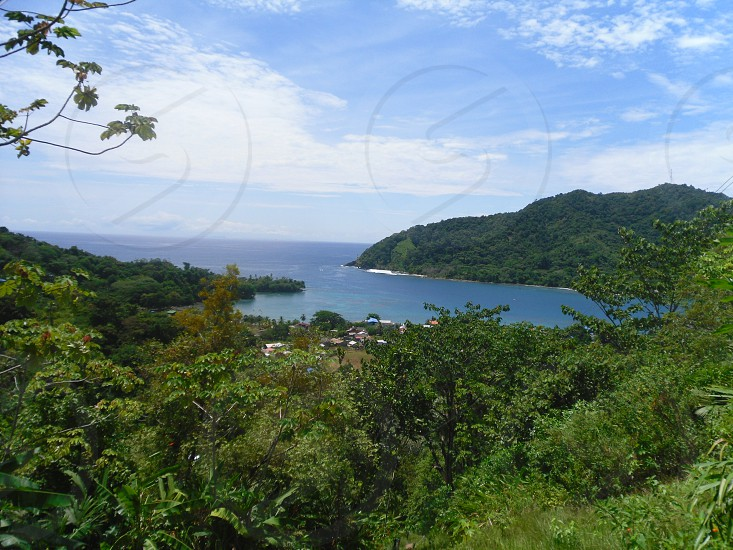 View of the sea from Capurganá Colombia. photo