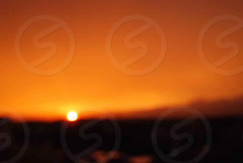 photo of sunset photo