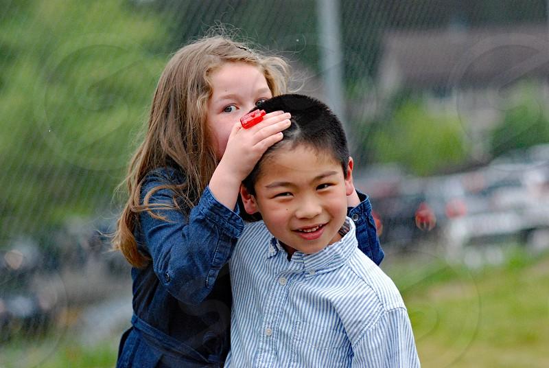 kid children friend friendship companionship fun photo
