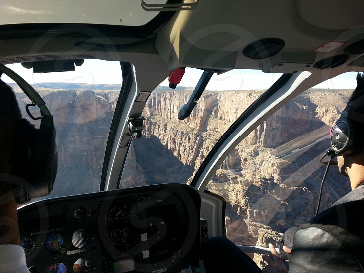 Flying through the Grand Canyon photo