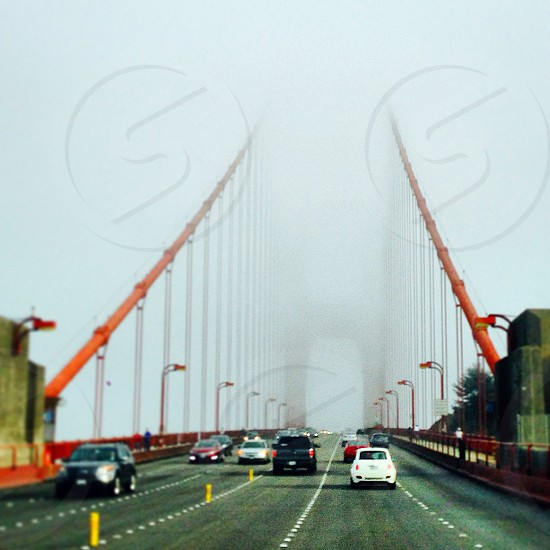 Foggy Golden Gate Bridge photo