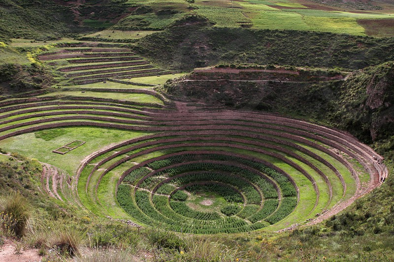 Moray Arcology in Peru photo