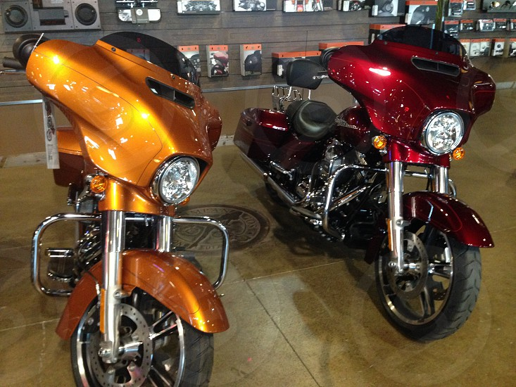 Hurley Davidson motorcycle motoworld photo