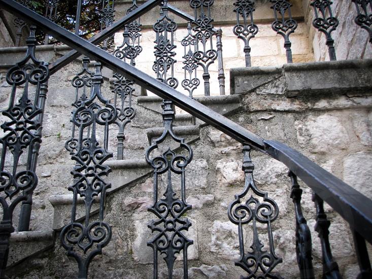 Kotor Montenegro Stairs photo