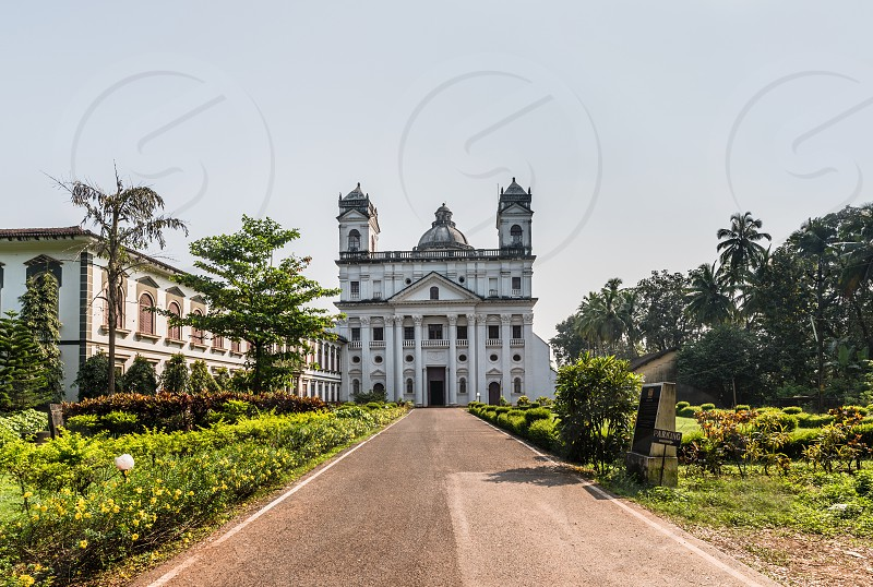 St. Cajetan Church a religious architecture and heritage site at Old Goa photo
