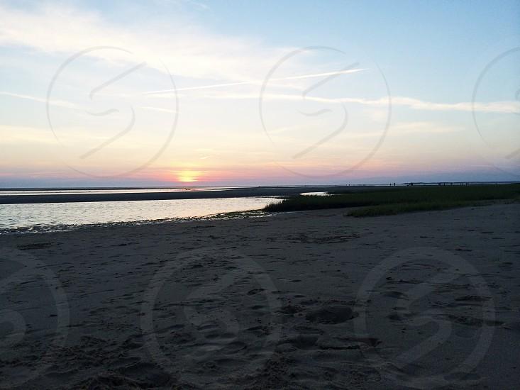 gray seashore view photo