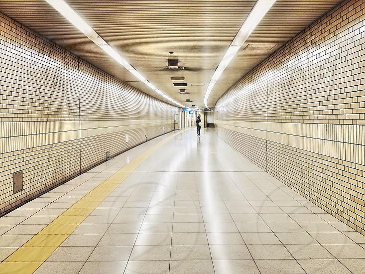 subway tunnel photo