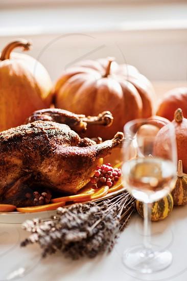 Thanksgiving turkey autumn photo