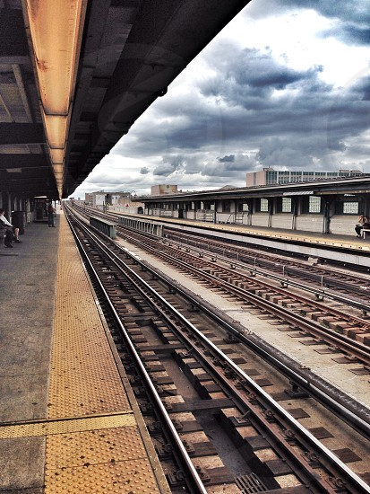 NYC traintracks photo