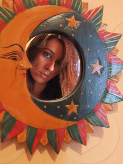 Magic mirror photo