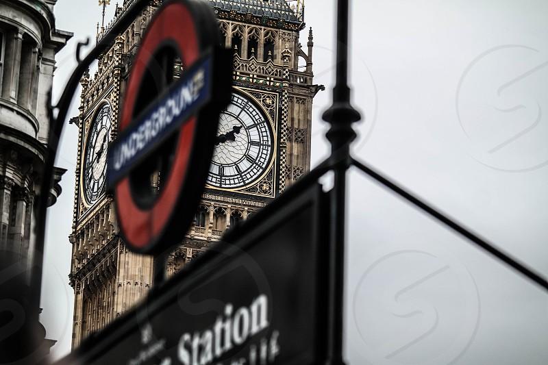 Gloomy London photo