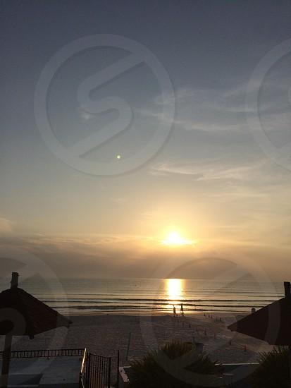 Daytona beach sunrise photo