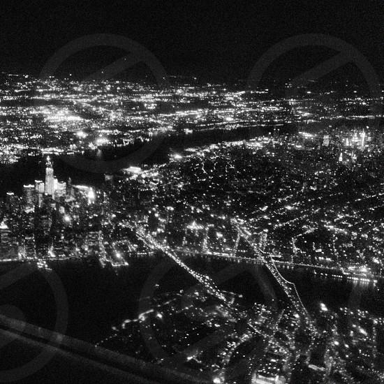 Manhattan from above photo