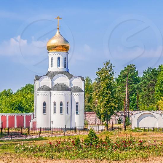 Pimen Ugreshsky Church in the Staint Nicholas Ugreshsky Monastery. City of Dzerzhinsky. Moscow Oblast. Russia photo