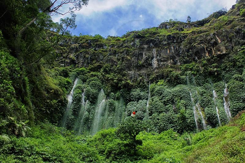 Waterfall at Malang photo