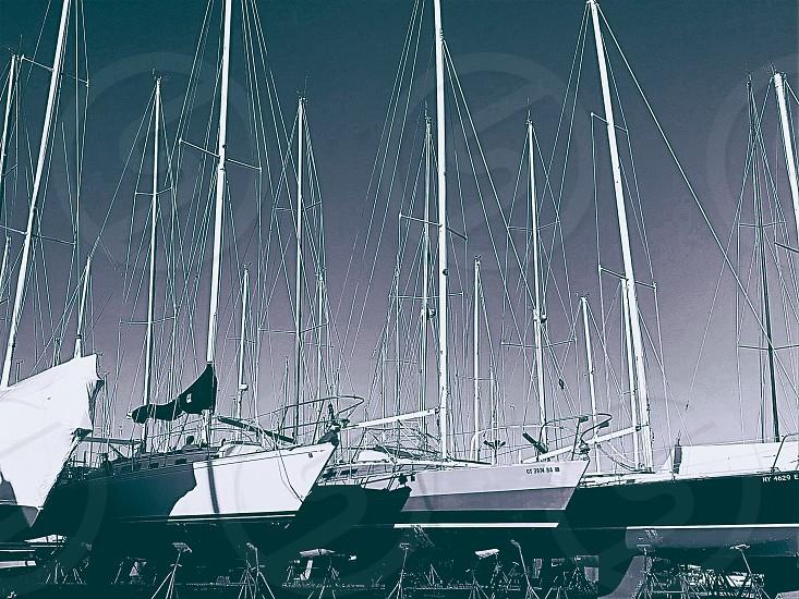 Boat Sail Dock Marina photo
