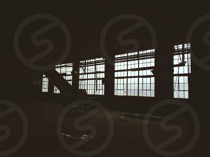 Warehouse urban abandoned photo