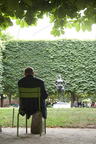 Park in Paris. photo