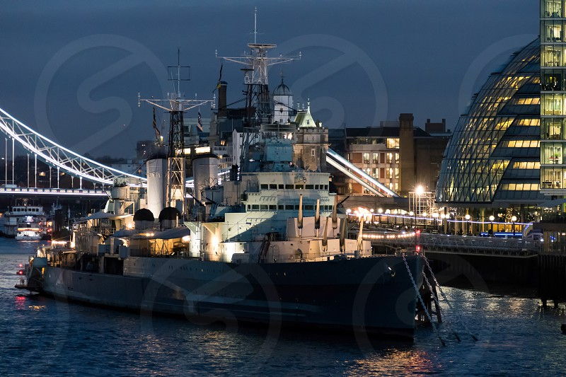 HMS Belfast in London photo