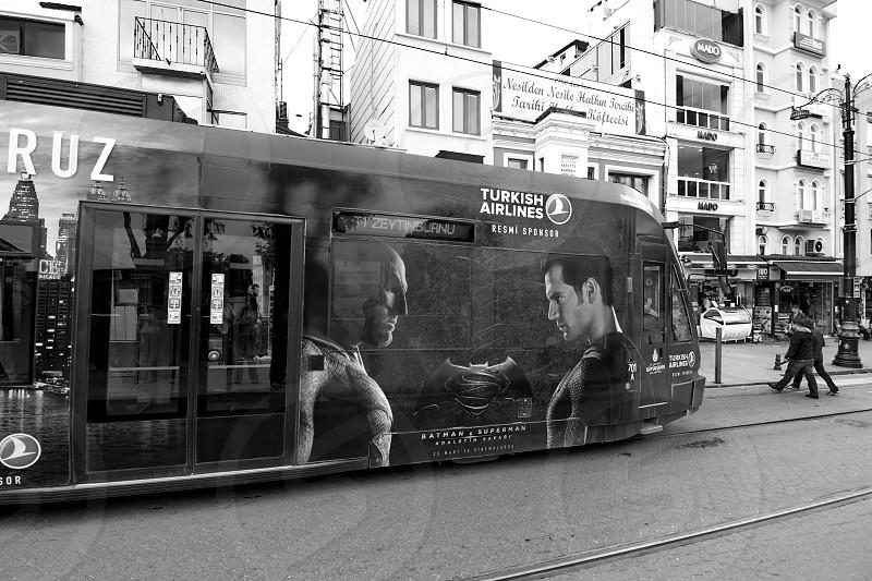 Tram in Istanbul photo