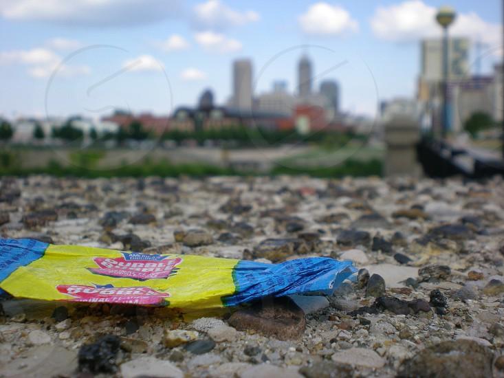 Bubble gum city photo
