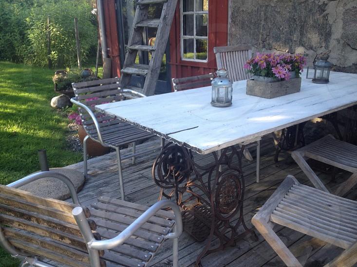 Furniture verandavintage photo