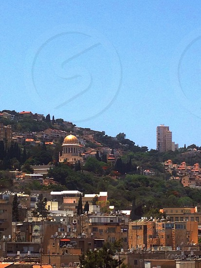 A view of Mount Carmel from my window. photo