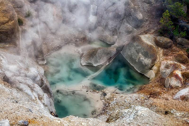 Norris Geyser Basin photo