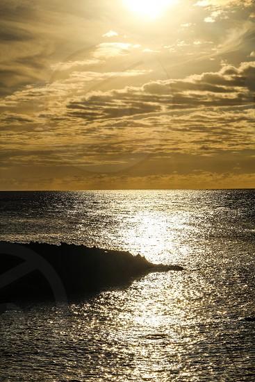 Sunset at Sharks Cove HonoluluHi photo