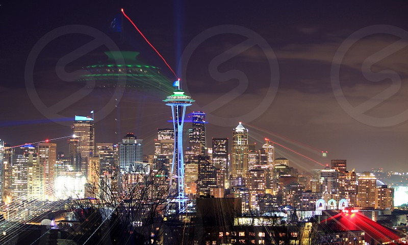 The Seattle space needle photo