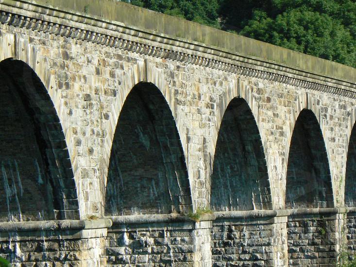 Aqueduct arches. photo