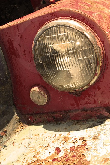Old headlight photo