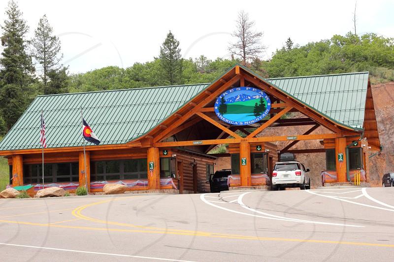 Pikes Peak Colorado  photo