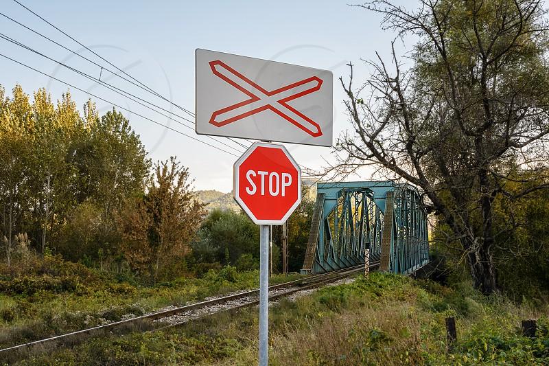 Railway railroad rail transport photo