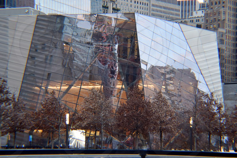 Reflecting on 9/11 Memorial photo