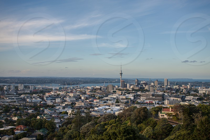 Cityscape of Auckland. photo