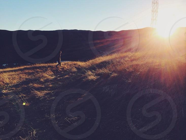 green grassfield photo