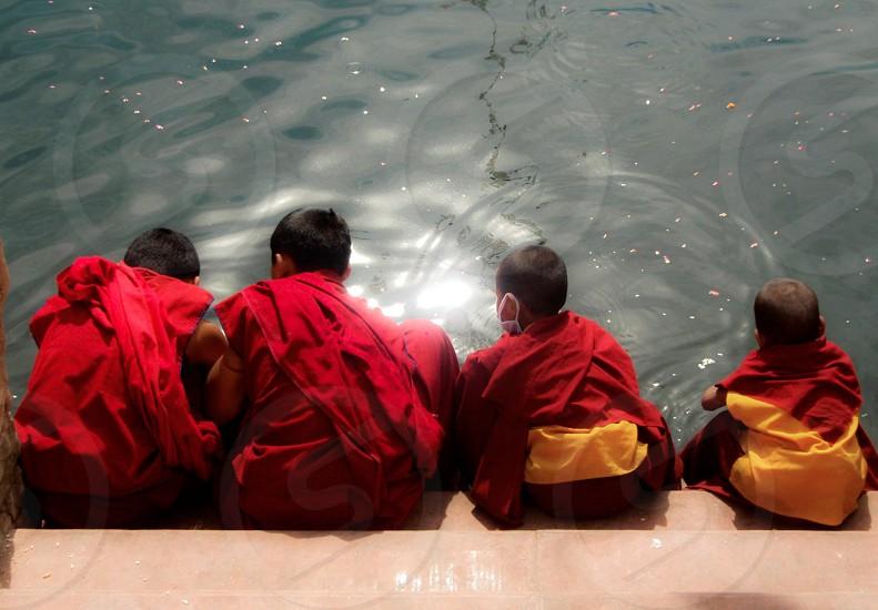child monks photo