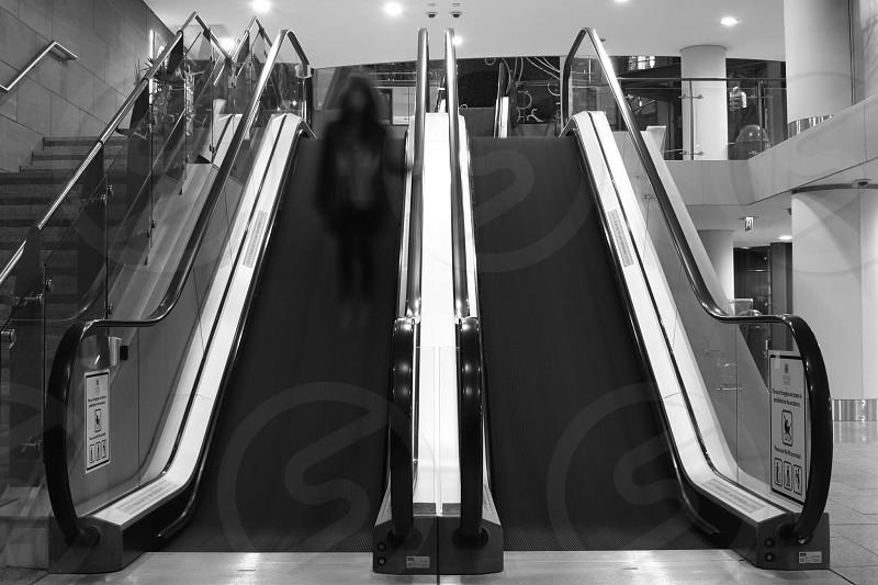 Ghost on the escalator photo