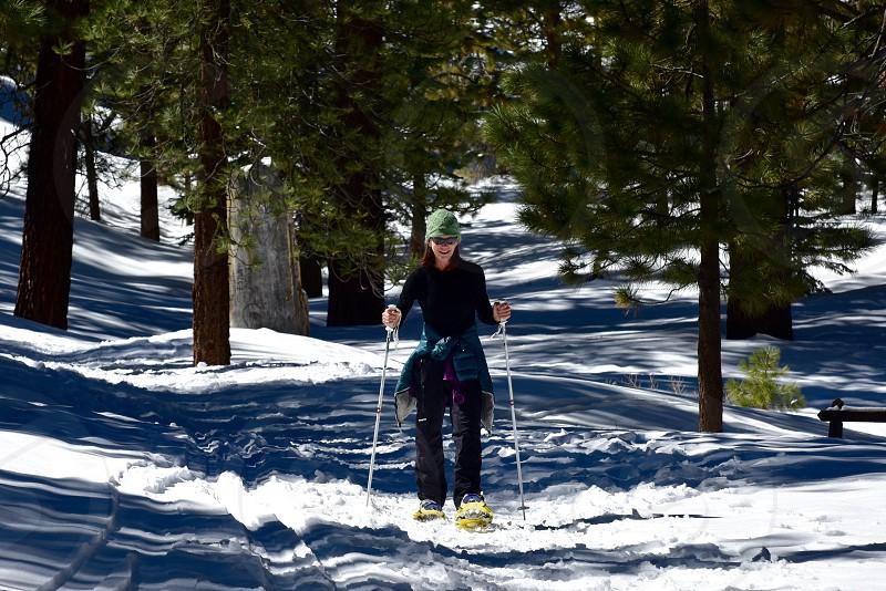 Snowshoe activity photo