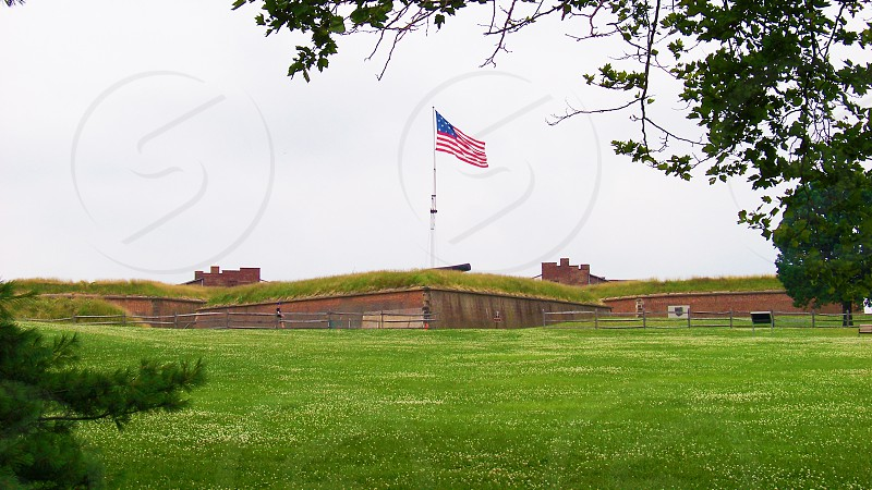 Fort McHenry National Monument in Baltimore MD photo
