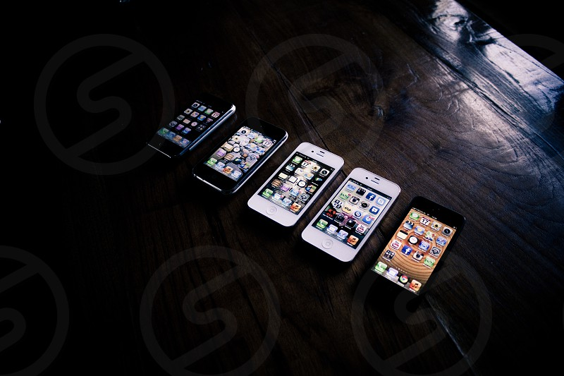 iphone user All the iphones except iphone 3g. photo