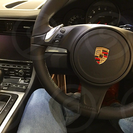 Porsche 991 from drivers seat photo