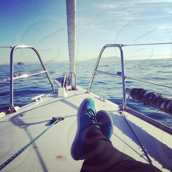 enjoying sailing photo