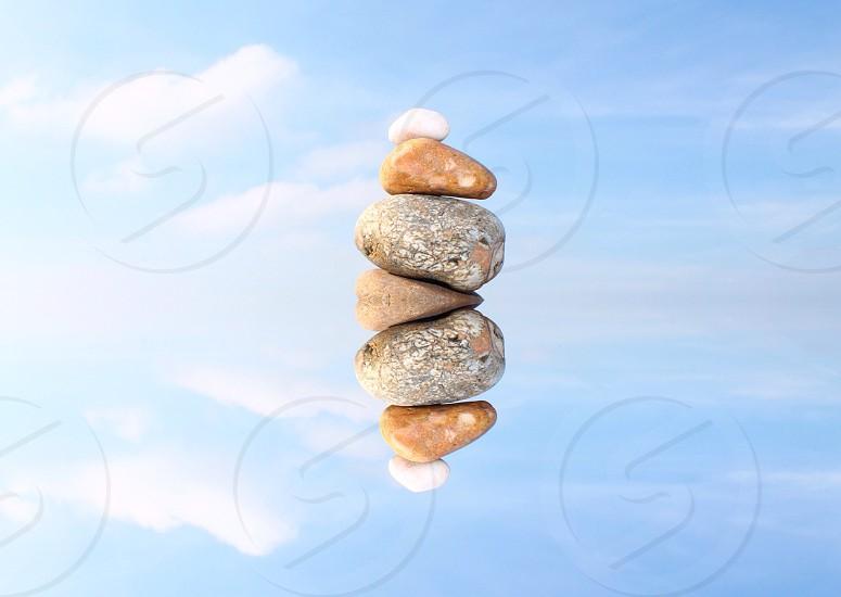 Floating rocks  photo